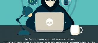 Как не стать жертвой киберпреступления?